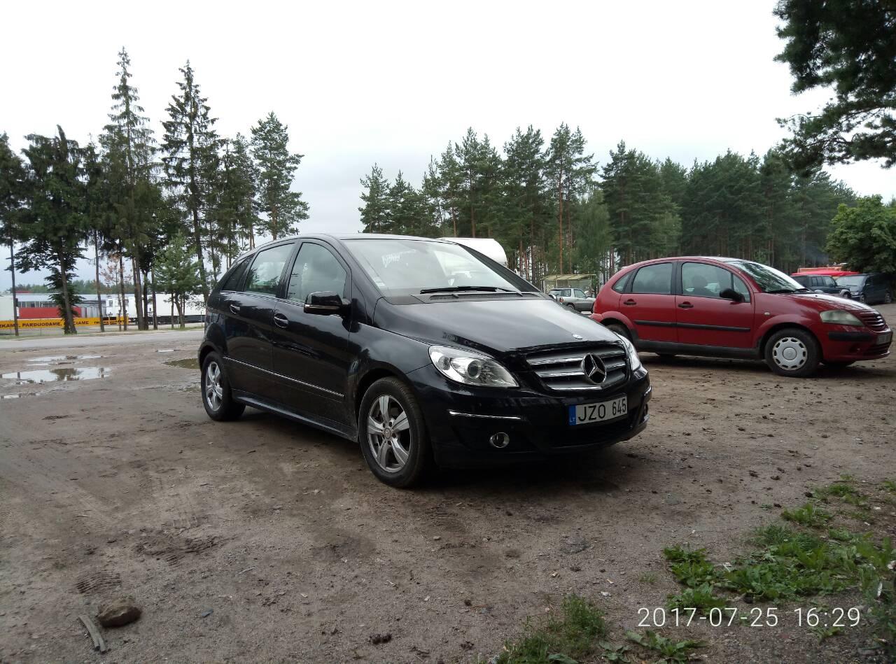 Mercedes-Benz B-Class 2.0D 2008