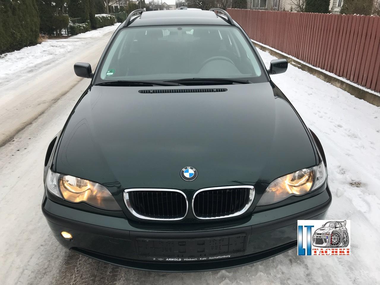 BMW 3er 320d E46 11/2002 г. Exclusive 5-cт. МЕХ