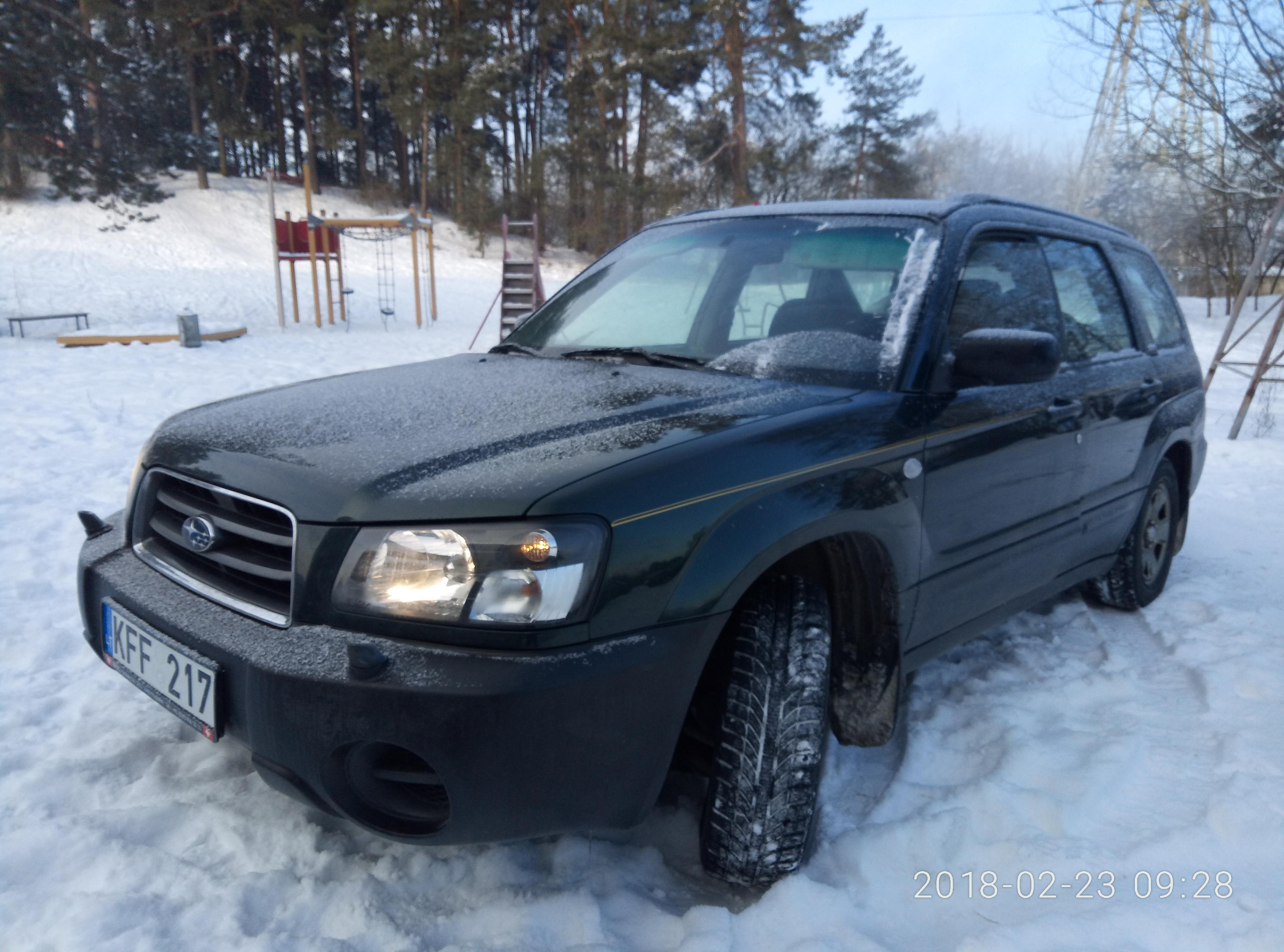 Subaru Forester 2.0X бензин