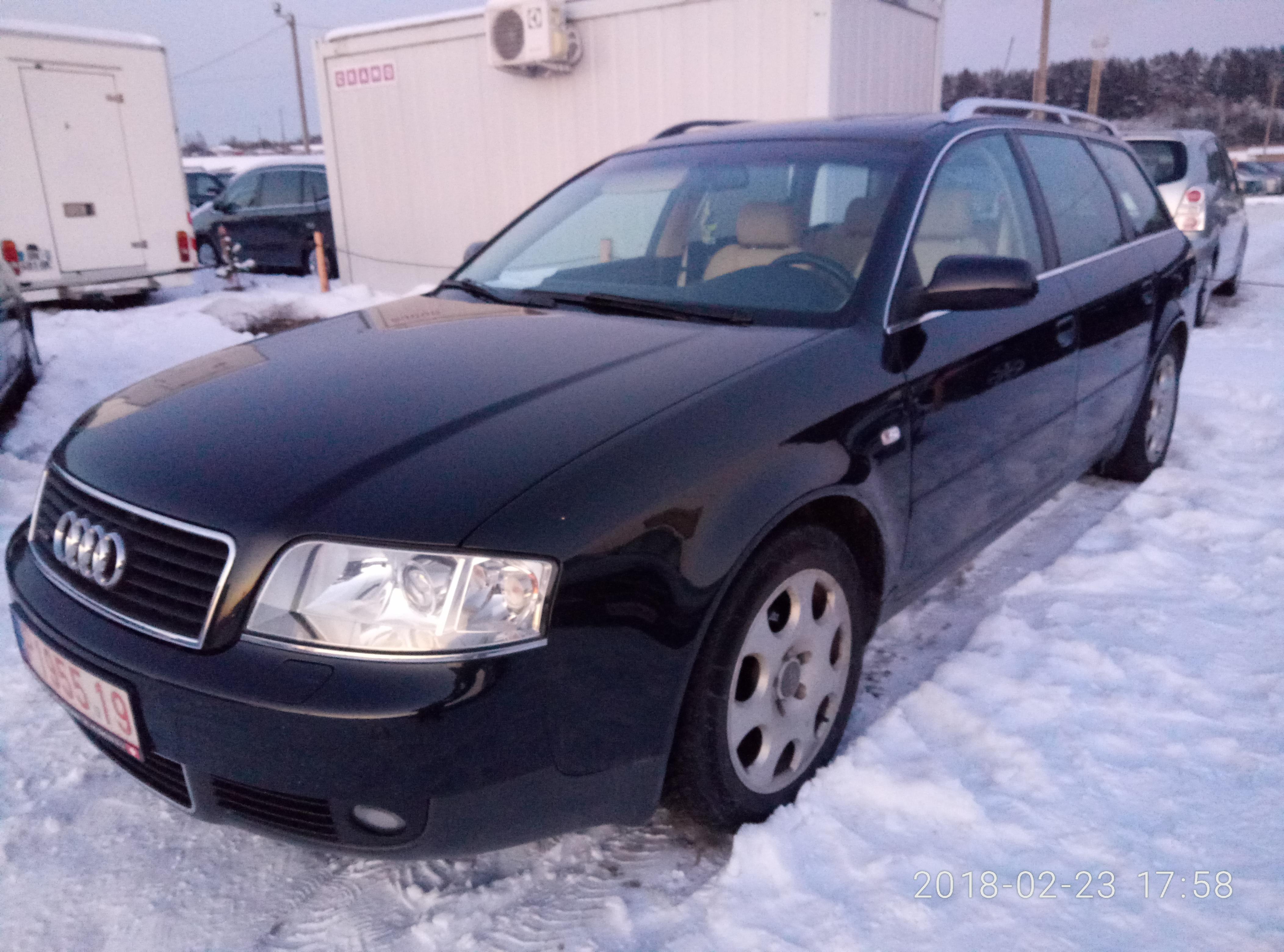 AUDI A6 ,V6 2.5TDI,132KW, 11/2002
