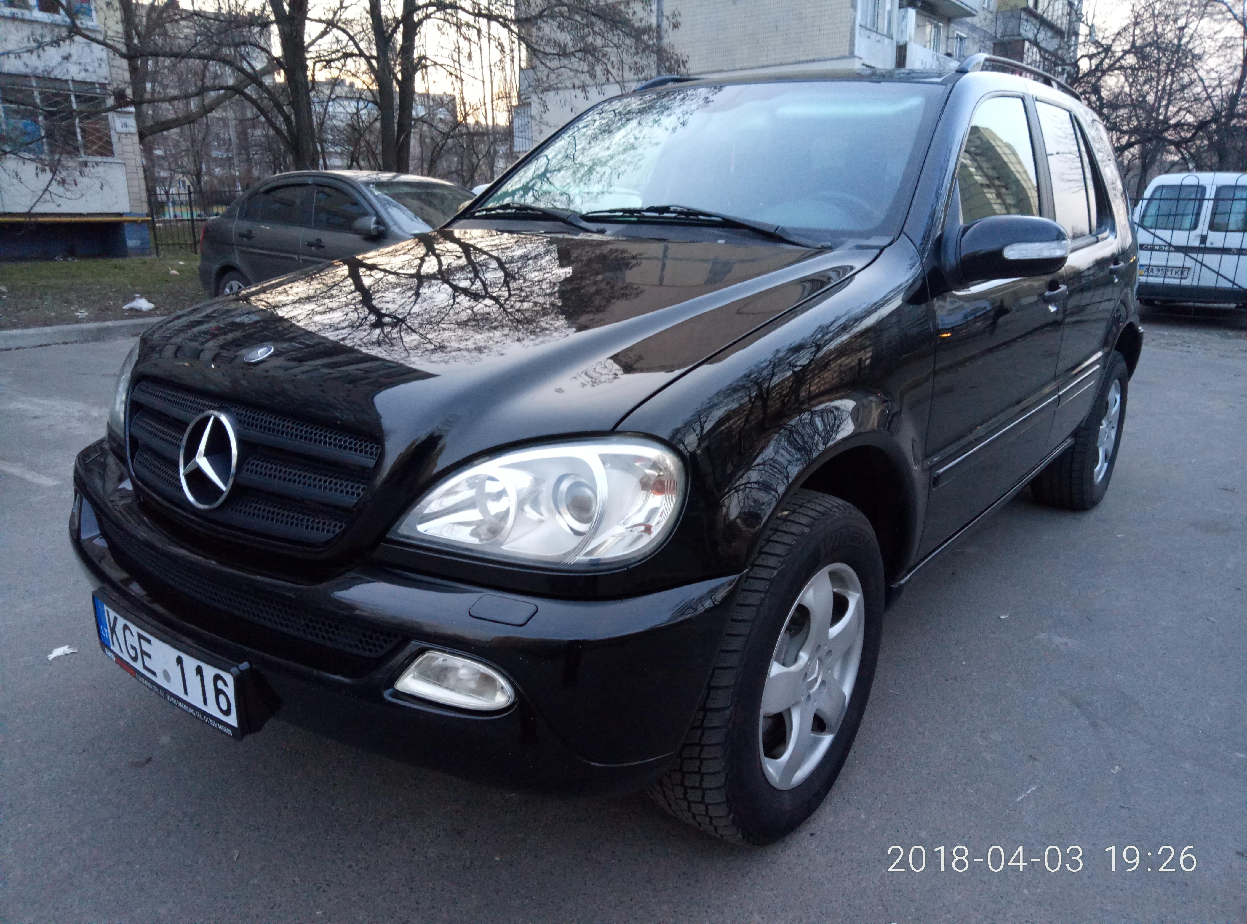 Mercedes ML 270 CDI (W163)