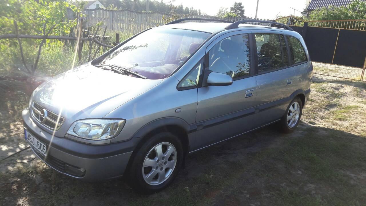 Opel Zafira, 2.2